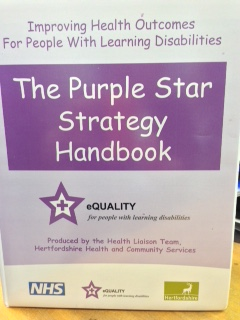 ThePurple Star handbook cover.