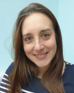 A closeup photo of Melanie Little