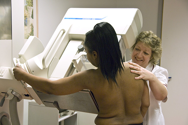 Breast screening appointment image