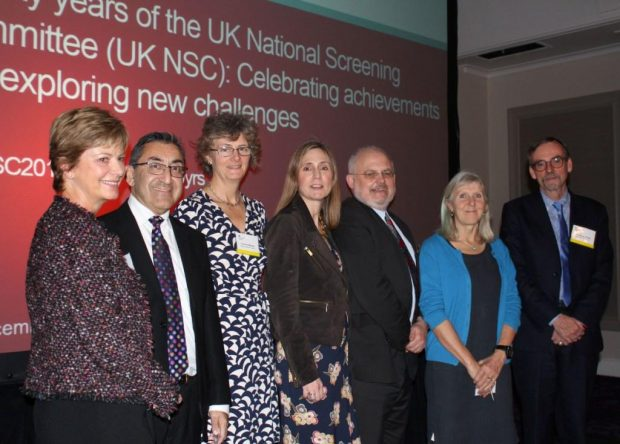 2016 conference speakers, from left, Dr Hilary Dobson, Dr Sunil Bhanot, Dr Anne Mackie, Dr Hilary Angwin, Dr Graham Shortland, Dr Angela Raffle and Professor Bob Steele