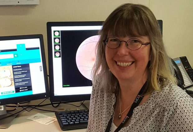 Jane Starr, grading manager at Western Sussex Diabetic Eye Screening