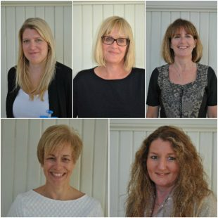 Headshots of Julie and the SQAS team.