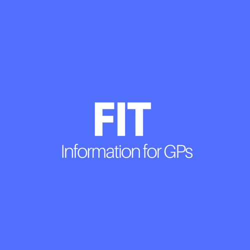 Infograhic showing the words information for GPs.
