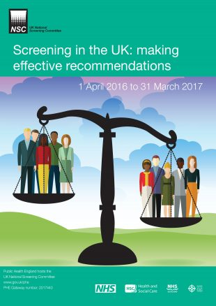 Screening in the UK report cover