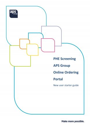 APS online ordering portal user guide