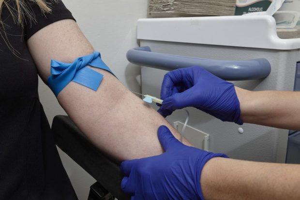 Screening blood test