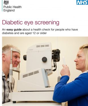 The new easy guide to diabetic eye screening