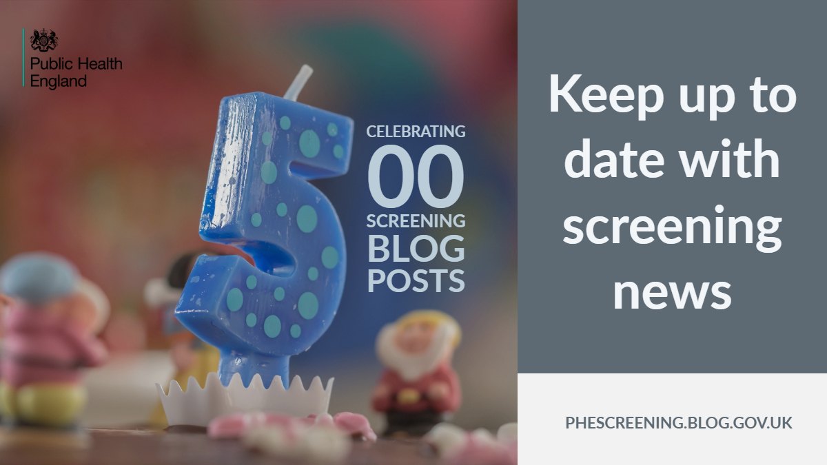 Cake with the words 'celebrating 500 screening blog posts'