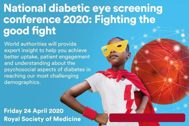 The national diabetic eye screening conference 2020 poster